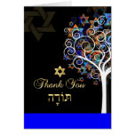 PixDezines tree of life/thank you/DIYbackground Note Card