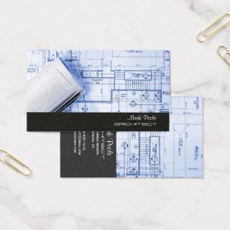 PixDezines TRENDY ARACHITECH/DIY COLORS/BLACK+GRE Business Card
