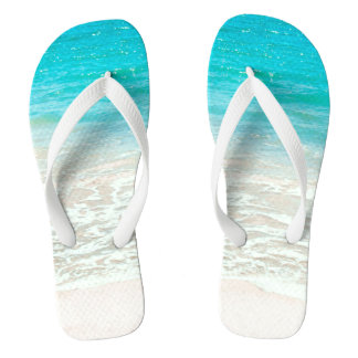 PixDezines Tropical Beach Thongs
