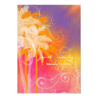 PixDezines tropical hula+swirls Card