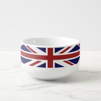 PixDezines union jack Soup Mug