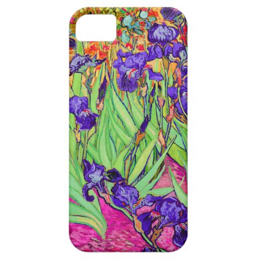 PixDezines van gogh iris/st. remy iPhone 5/5S Cases