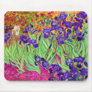 PixDezines van gogh iris/st. remy Mouse Pad