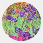 PixDezines van gogh iris/st. remy Sticker