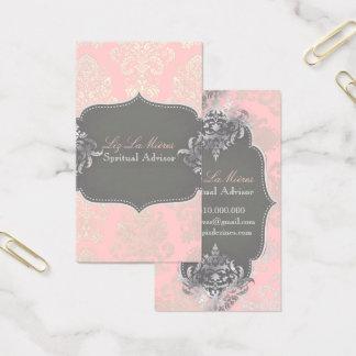 PixDezines Victorian Damask/DIY color Business Card