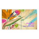 PixDezines vintage bird of paradise ♥♥♥ Pack Of Standard Business Cards