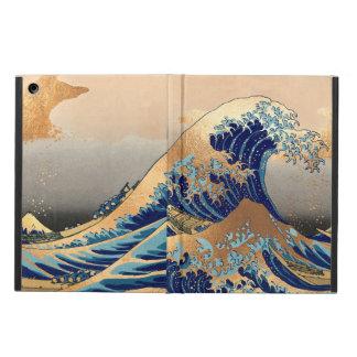 PixDezines Vintage, Great Wave, Hokusai 葛飾北斎の神奈川沖浪 Case For iPad Air