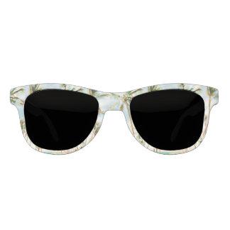 PixDezines Vintage Hawaiian Beach/Blue Sky Sunglasses