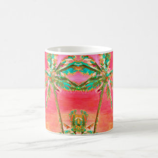PixDezines Vintage Hawaiian Beach Coffee Mug