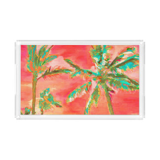 PixDezines Vintage Hawaiian Beach/Coral/Teal