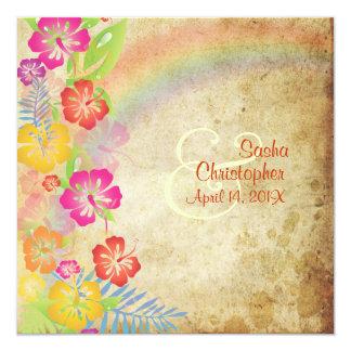 PixDezines vintage/Leis/Luau/hibiscus+rainbow Announcements