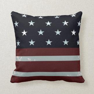 PixDezines vintage us flag Cushion