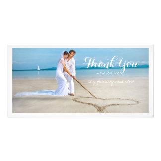PixDezines wedding photo thank you Personalized Photo Card