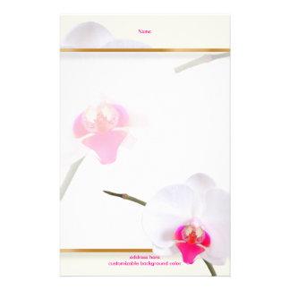 PixDezines White Orchid 2 | Perfect Bride Customised Stationery