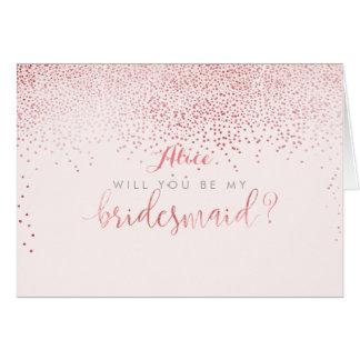 PixDezines Will You Be My Bridesmaid Card