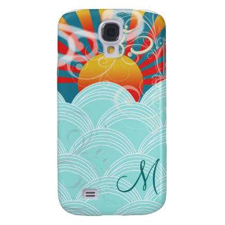 PixDezines Wind + Water + Om Galaxy S4 Case