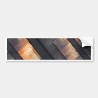 pixel art 6 bumper sticker