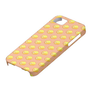 Pixel Art Battenberg Cake Pattern iPhone 5 Cases