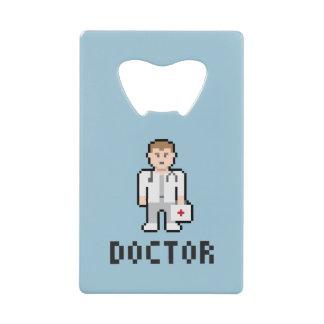 Pixel Art Doctor Bottle Opener
