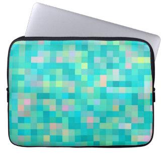 Pixel Art Multicolor Pattern Laptop Sleeve