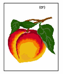 Pixel Art Fruit Clothing Apparel Shoes More Zazzle Au