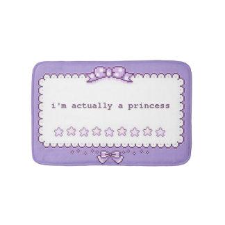 Pixel Art Princess Bath Mats