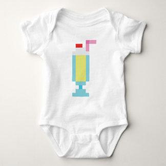 Pixel banana milkshake shirts