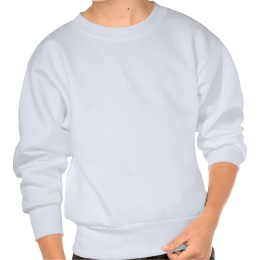 Pixel banana milkshake pull over sweatshirt
