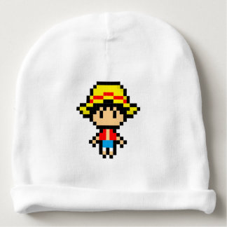 Pixel Boy Baby Beanie