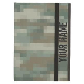 Pixel camouflage iPad air case | Personalizable