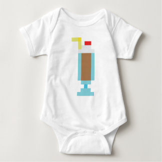 Pixel chocolate milkshake shirt
