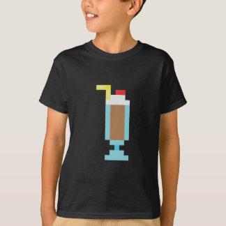 Pixel chocolate milkshake T-Shirt