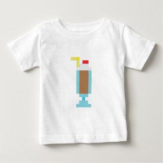 Pixel chocolate milkshake tee shirt