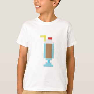 Pixel chocolate milkshake tshirts