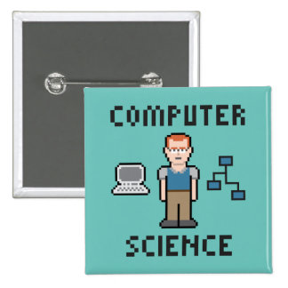 Pixel Computer Science Button