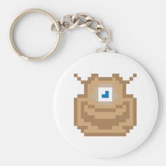 Pixel Cyclops Key Chain
