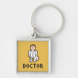 Pixel Doctor Keychain