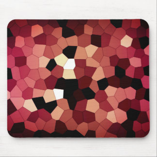 Pixel Dream - Red Mouse Pad