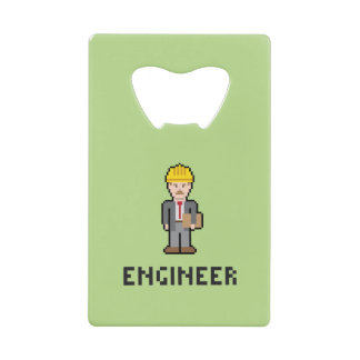 Pixel Engineer Bottle Opener