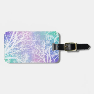 Pixel Forest Luggage Tag