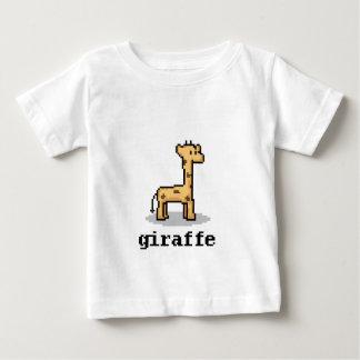 Pixel Giraffe T Shirt