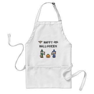 Pixel Halloween Standard Apron