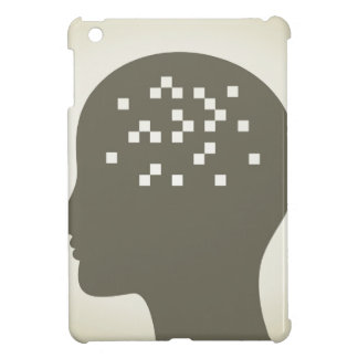 Pixel in a head iPad mini covers