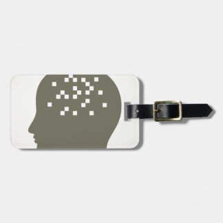 Pixel in a head luggage tag