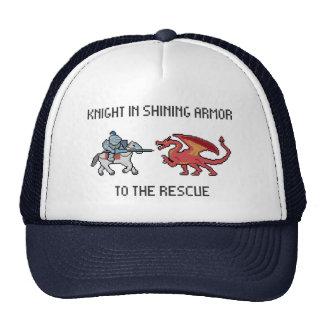 Pixel Knight vs Dragon Hat