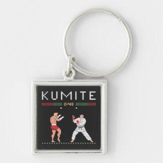 Pixel Kumite Key Ring