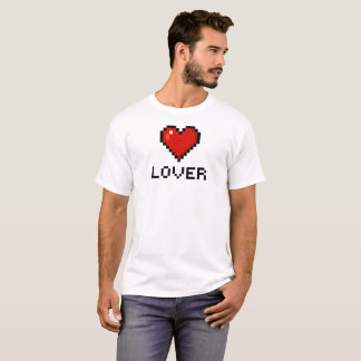 Pixel Lover Heart T-Shirt