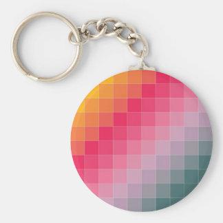 Pixel Madness Key Ring