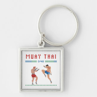 Pixel Muay Thai Key Ring