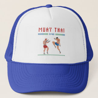 Pixel Muay Thai Trucker Hat